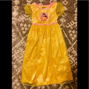 NWOT**Disney Belle Pajama Gown Dress